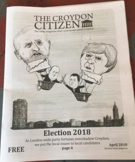 The Croydon Citizen's April edition
