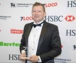 Awards triumph for outgoing regional daily editor