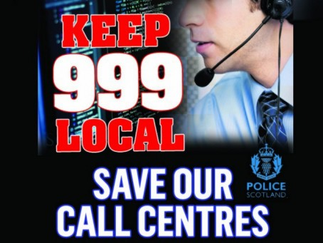 Scottish Labour leader backs newspaper's bid to save 999 call centres
