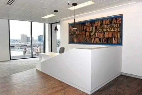 The new Aberdeen Journals office