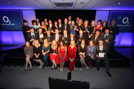 The winners at last night's O2 Awards