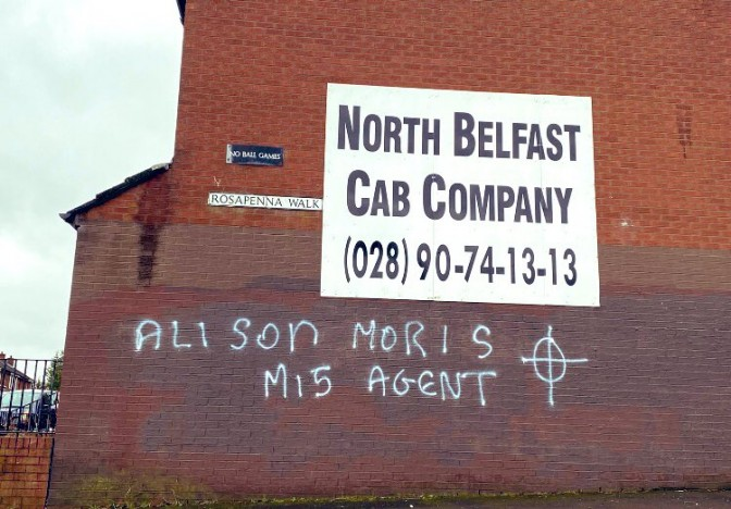 Allison Morris graffiti