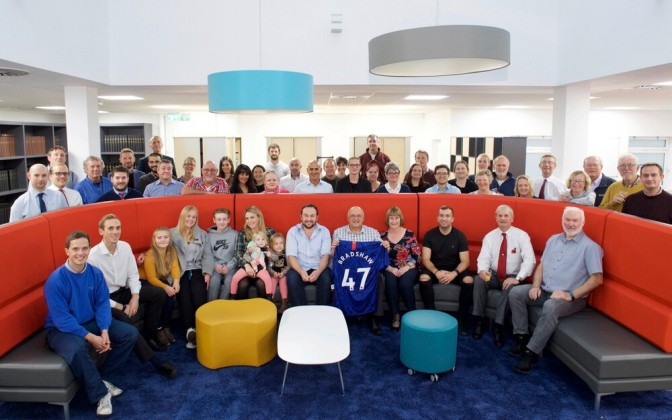 Andy Bradshaw bids farewell to JEP colleagues