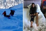 Journalist rescued after collapsing on remote ski slope