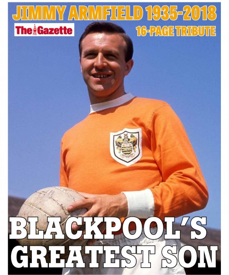 The cover of The Gazette's tribute supplement
