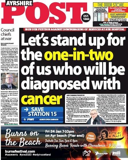 Ayrshire cancer