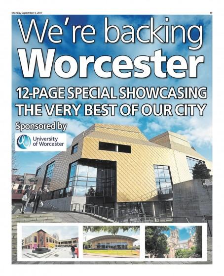 Backing Worcester