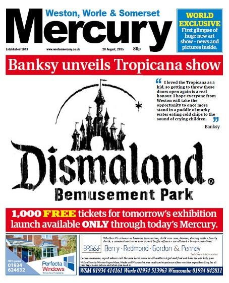 Banksy exclusive