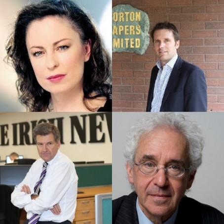 Clockwise from top left: Gail Walker, Alistair Bushe, Sir Alan Moses and Noel Doran