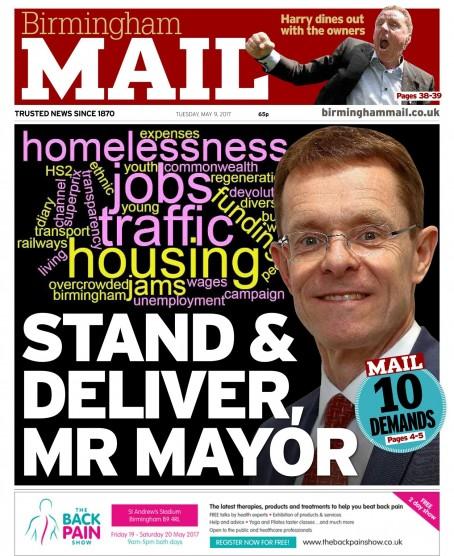 Birmingham 10 demands
