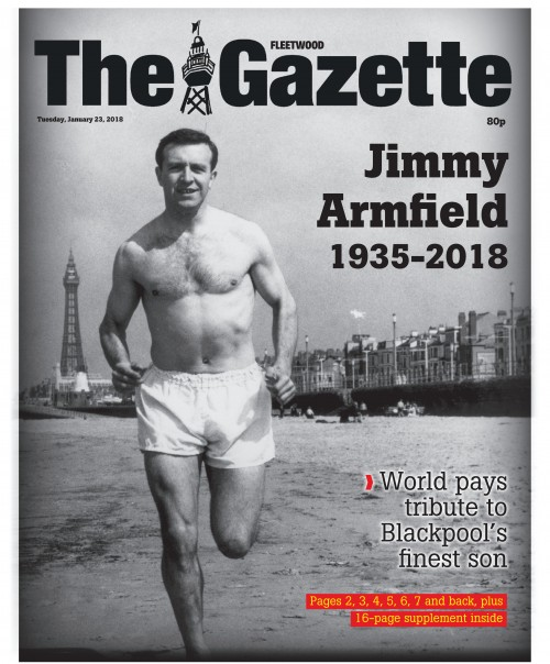 Blackpool Gazette - Jimmy Armfield 1935-2018