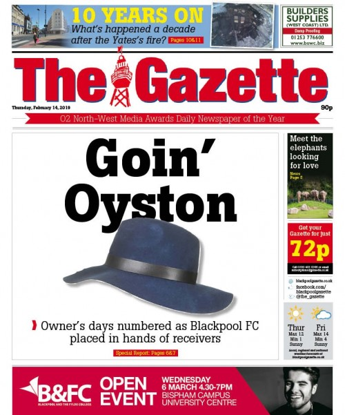 How The Gazette covered the court ruling last month