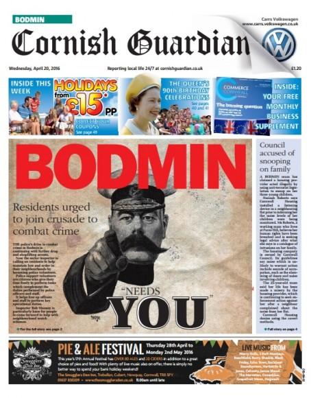 Bodmin front
