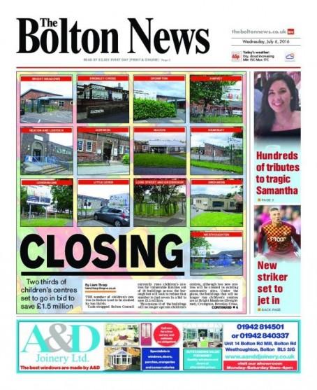 Bolton closing