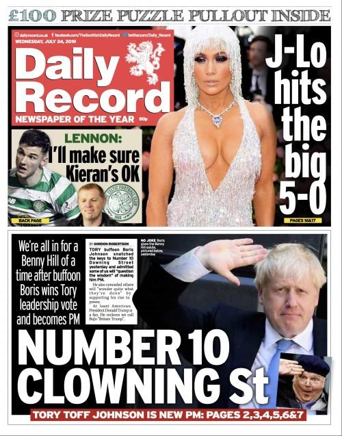 Boris Daily Record