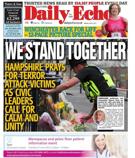 Borough Daily echo