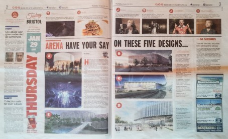 Bristol Post pages two and three