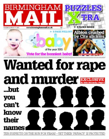 Brum Mail suspects
