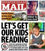 The Mail recently revealed one in five youngsters cannot read after primary school