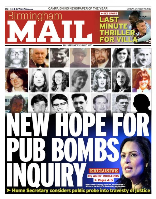 Brum pub bombs