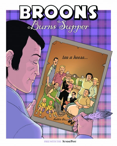 Burns broons cover