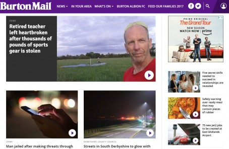 The Burton Mail's website will become part of the new Derbyshire Live brand