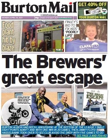 Burton escape