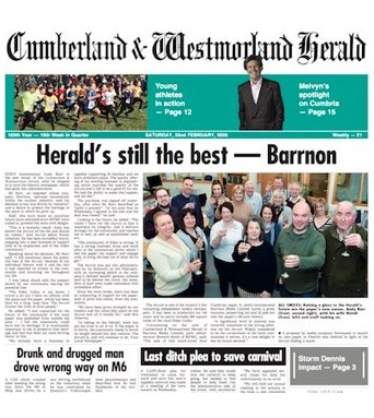 How the Herald covered the deal
