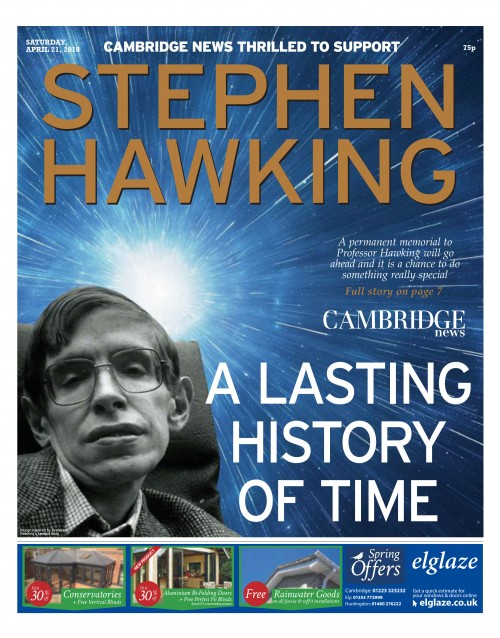 Cambridge News Team - Stephen Hawking