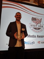 Local democracy reporter wins travel writing award after first press trip