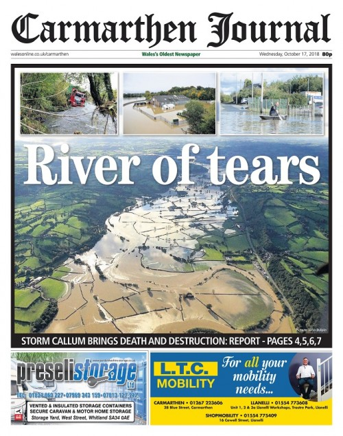 Carmarthen Journal - River of tears