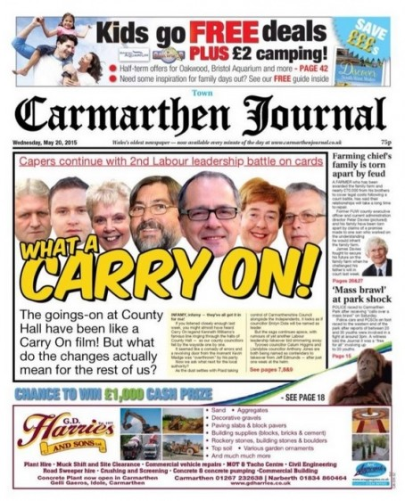 Carry on Carmarthen