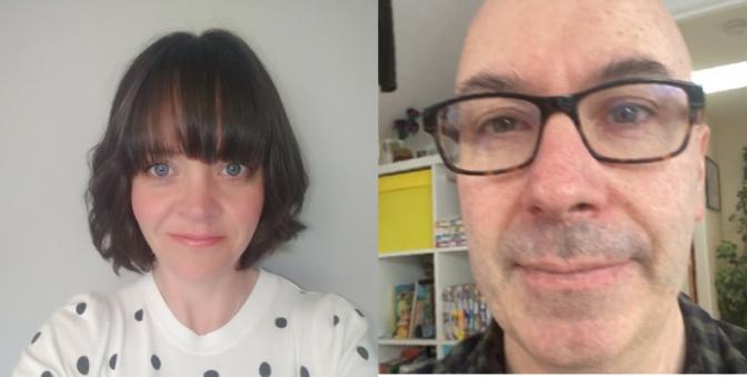 Catherine Salmond and Euan McGrory
