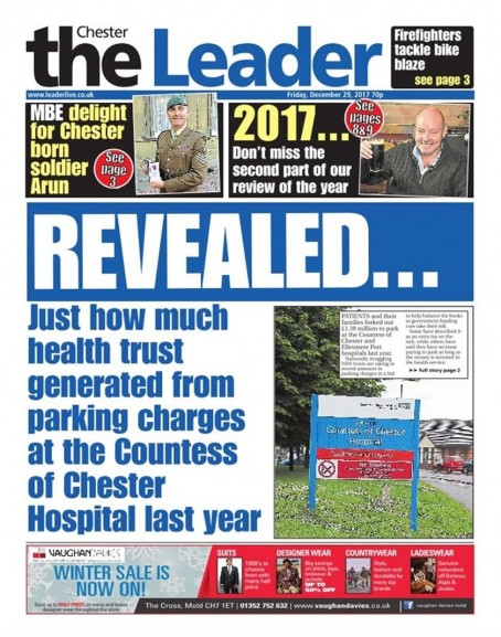 The final edition of the Chester Leader
