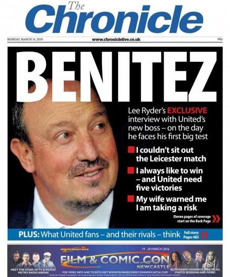 Chronicle Benitez