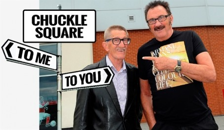 Surviving Chuckle Brother Paul, right, backed the campaign