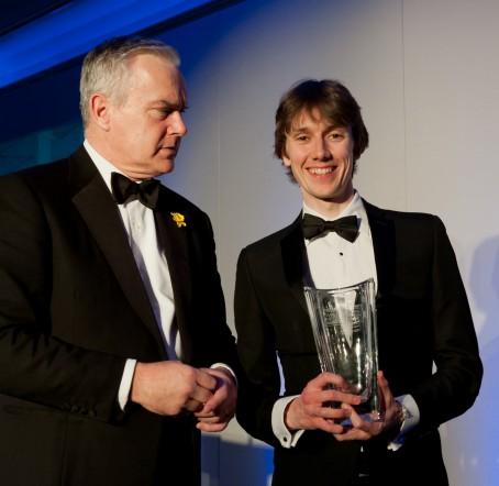 Ciaran Jones Wales Journalist of the Year