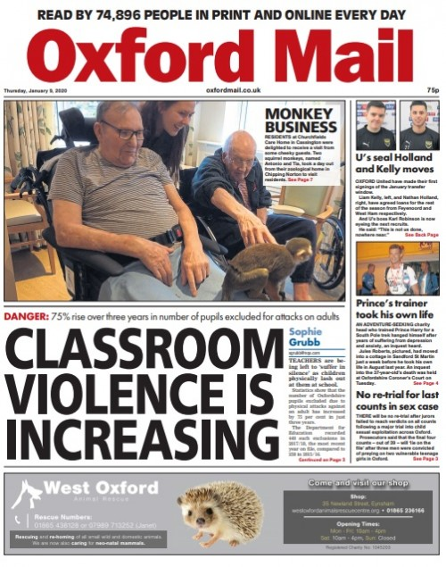Localised findings provided a splash for the Oxford Mail