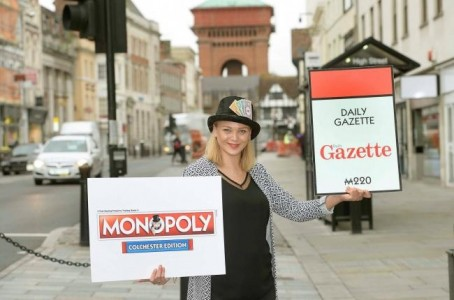 Emma Lodwick, head of Monopoly maker Winning Moves, in Colchester