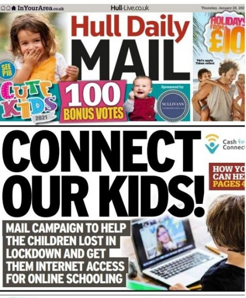 How the appeal was launched by the Hull Daily Mail
