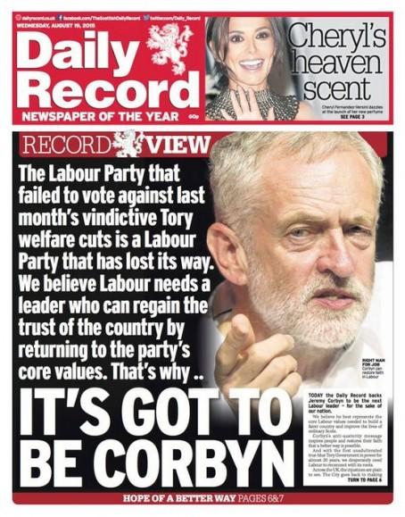Corbyn Record