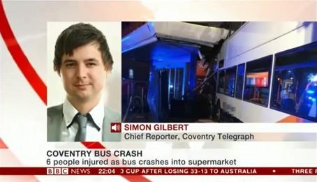 Coventry crash
