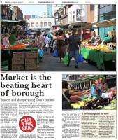 The latest 'not crap' feature focused on the Surrey Street Market, with more to come in future weeks