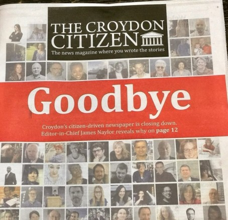 Croydon Goodbye