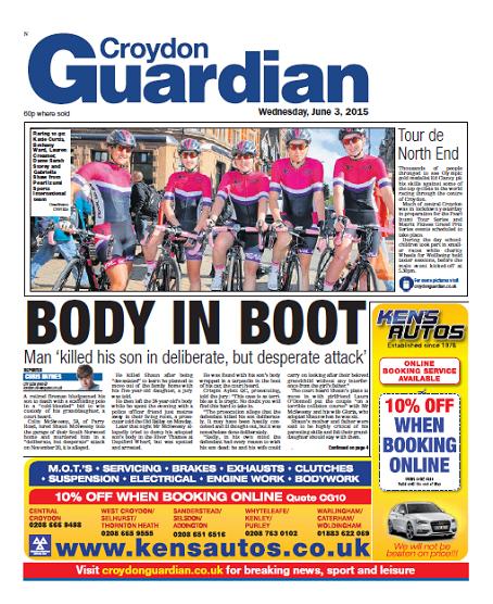 Croydon Guardian front
