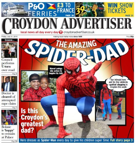 Croydon Spiderman