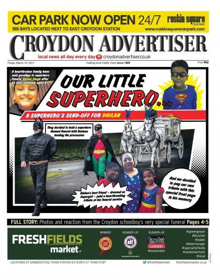 Croydon superhero