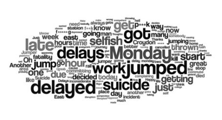 Croydon Advertiser Reporter Creates Word Cloud From Train Death