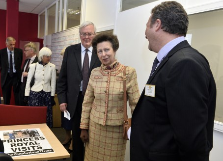 Her Royal Highness The Princess Royal visits Newspaper House in Carlisle, Head Office of Cumbrian Newspapers the publisher of the News and Star and The Cumberland News. Princess Anne toured the building meeting directors, staff and local charities: 22 July 2015 STUART WALKER