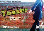 Dailies warn readers 'don't be a tosser' as campaign relaunched